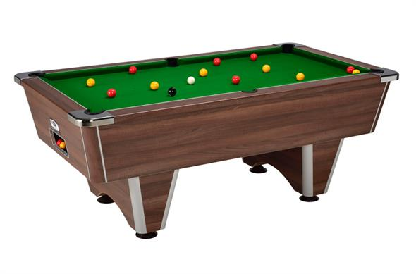 Signature Champion Pool Table: Walnut - 6ft, 7ft
