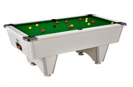 Signature Champion Pool Table: White - 6ft, 7ft