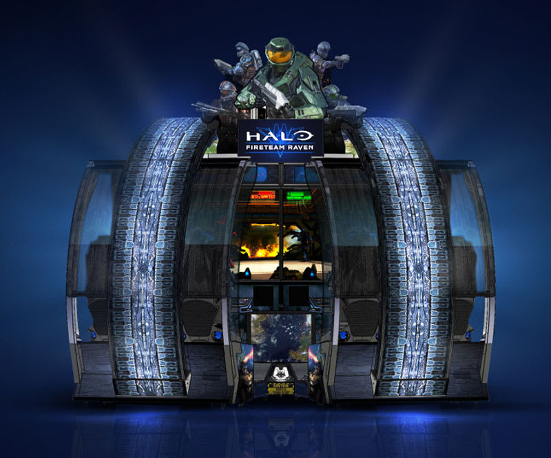 An image of Halo: Fireteam Raven Arcade Machine