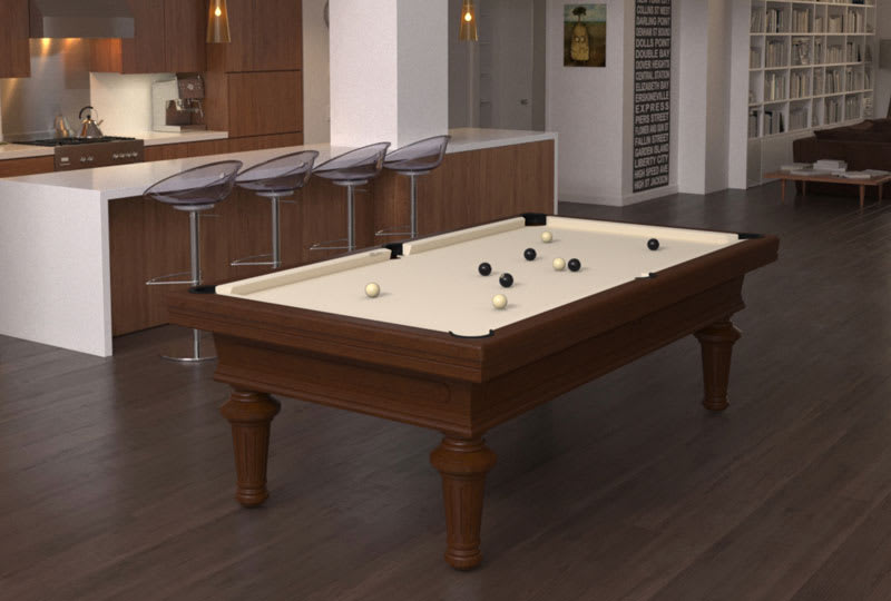 Toulet Empereur Pool Table - Room Shot