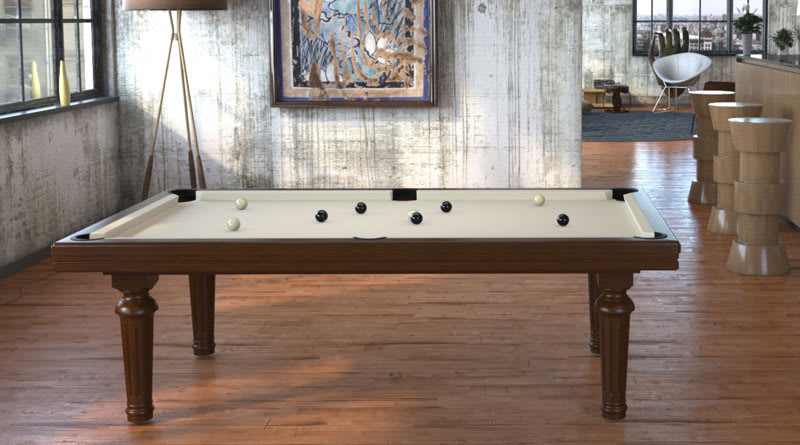 Toulet Excellence Pool Table - Room Shot