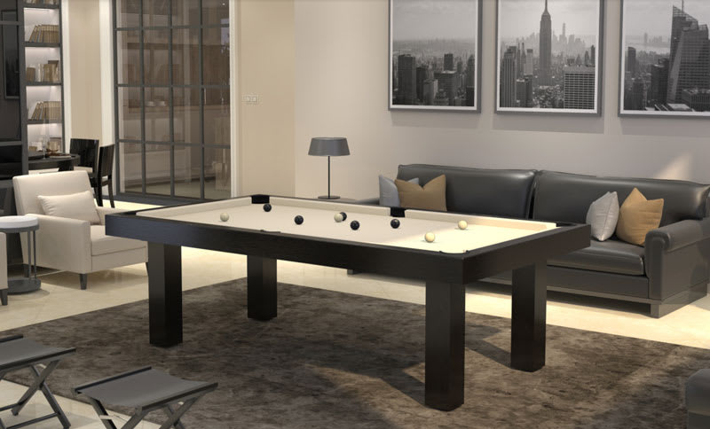 Toulet Purity Pool Table - Room Shot
