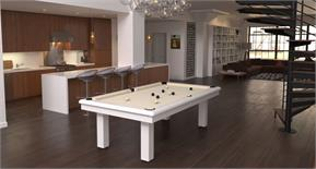 Toulet Roundy Pool Table - 6ft, 7ft, 8ft, 9ft, 10ft, 12ft