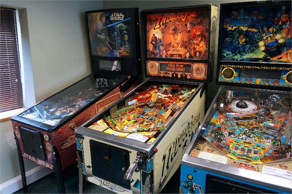 Indiana Jones Williams Pinball Machine