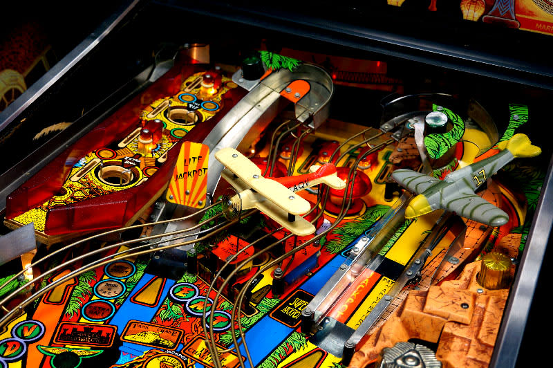 Indiana Jones Pinball Machine - Upper Playfield