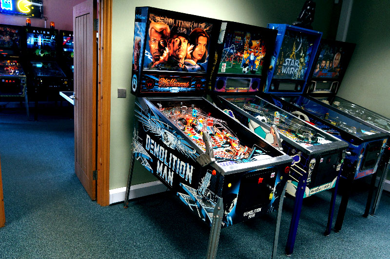 Demolition Man Pinball Machine - In Showroom