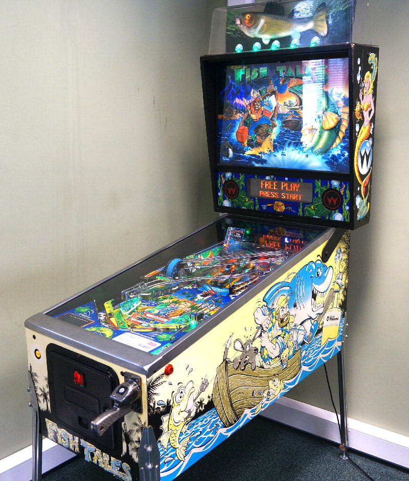 Fish Tales Pinball Machine - In Showroom