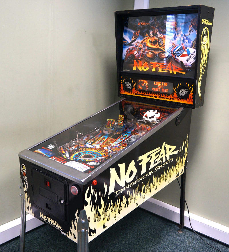 An image of No Fear: Dangerous Sports Pinball Machine