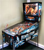 Demolition Man Pinball Machine