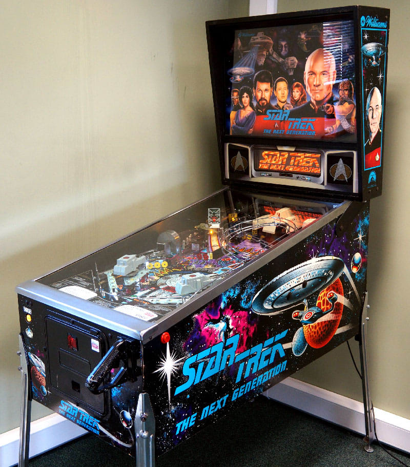 An image of Star Trek Next Generation Pinball Machine