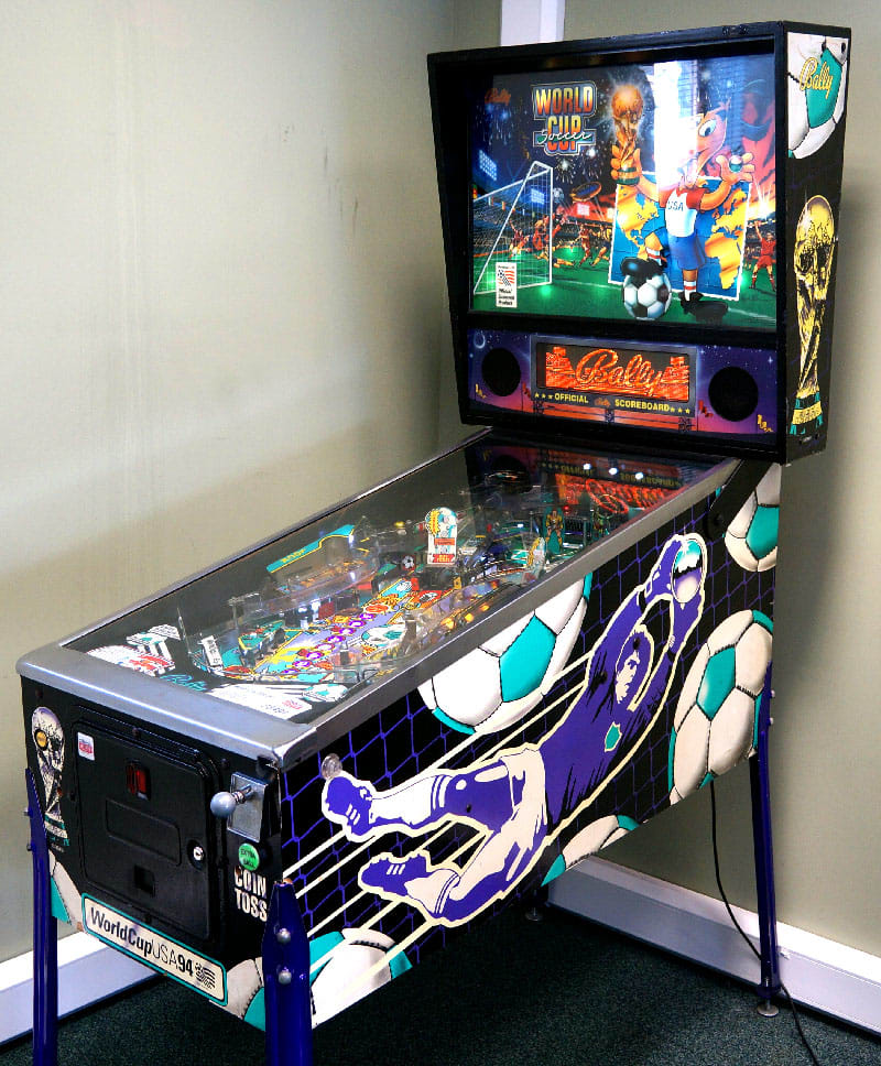 An image of World Cup Soccer Pinball Machine