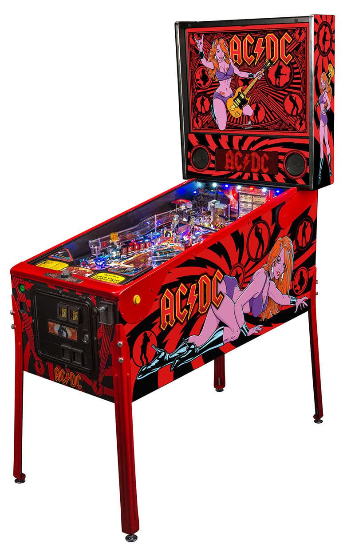 Ac Dc Luci Pinball Machine By Stern Pinball Premium For