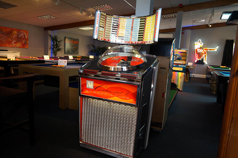 Ami Continental 2 Vinyl Jukebox - In Showroom (Dark)