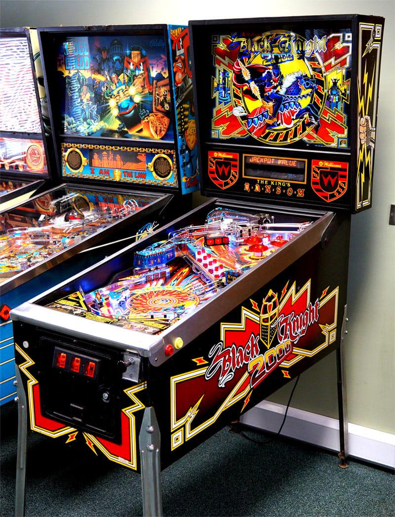 Black Knight 2000 Pinball Machine For Sale UK