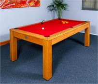Signature Chester Oak Pool Dining Table: 6ft, 7ft