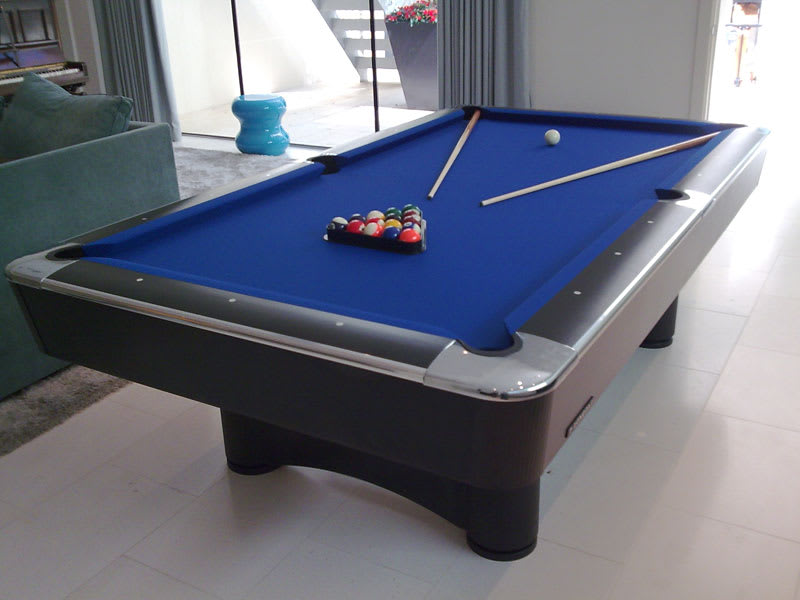 An image of Longoni Las Vegas Pool Table - 8ft, 9ft: