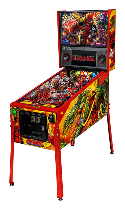 Deadpool LE Pinball Machine - Overview