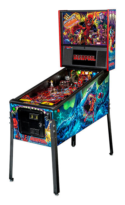 Deadpool Premium Pinball Machine - Machine Overview