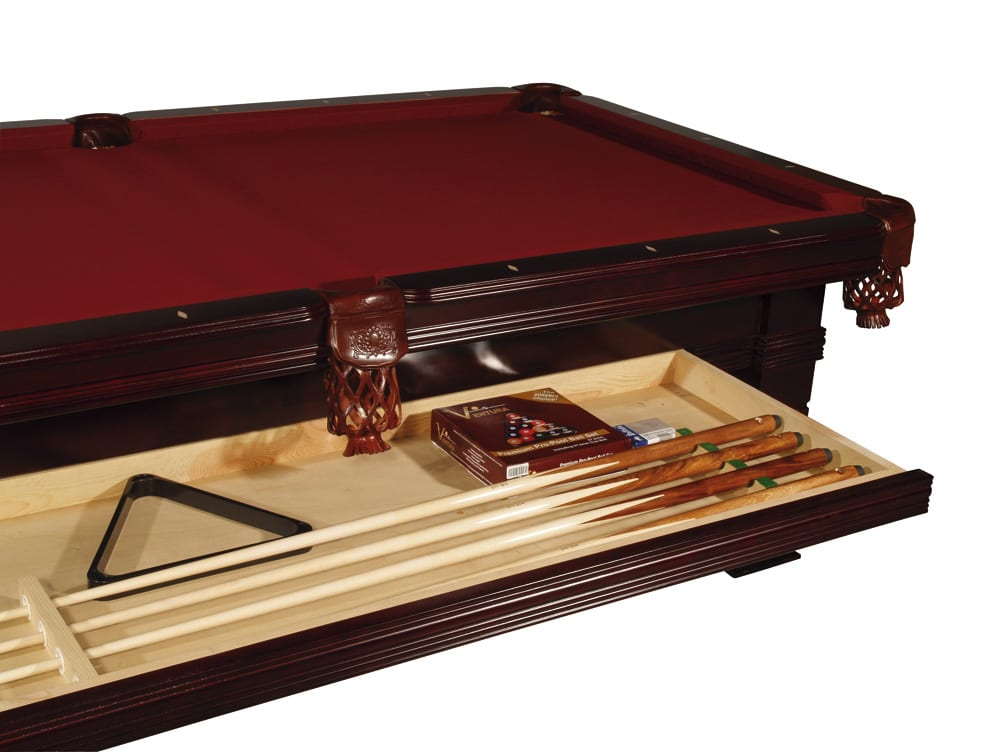 Buffalo Riva Pool Table - 8ft - with Accessories