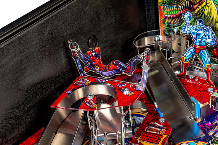 Deadpool Pro Pinball Machine - Deadpool Plastics