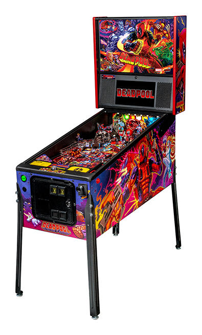 An image of Deadpool Pro Pinball Machine