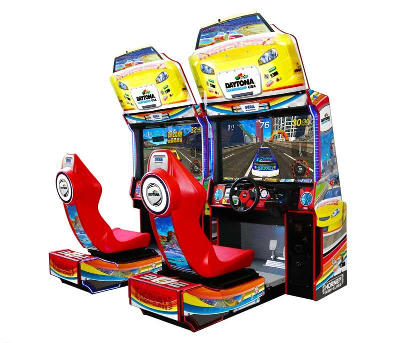An image of Daytona Championship USA Twin Arcade Machine