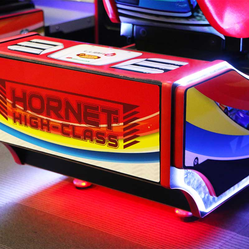 Daytona Championship USA Arcade Machine - Seat Lights