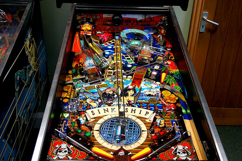 Black Rose Pinball Machine - Playfield