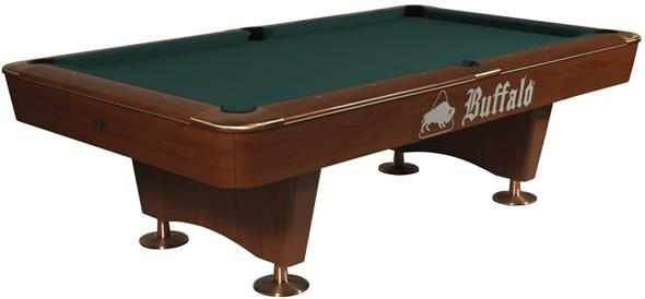 Buffalo Dominator American Pool Table (Brown) - 9ft