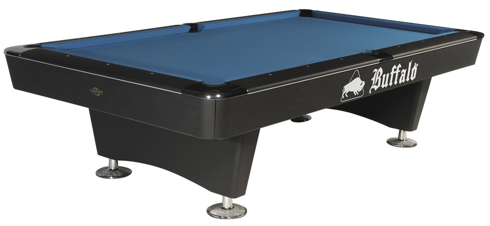 An image of Buffalo Dominator American Pool Table (Black) - 8ft |