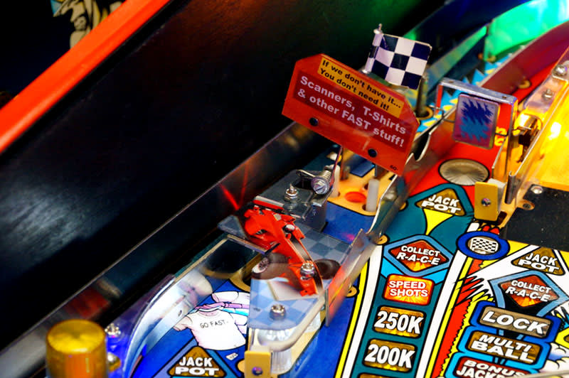 Grand Prix Pinball Machine - Scanner Scoop