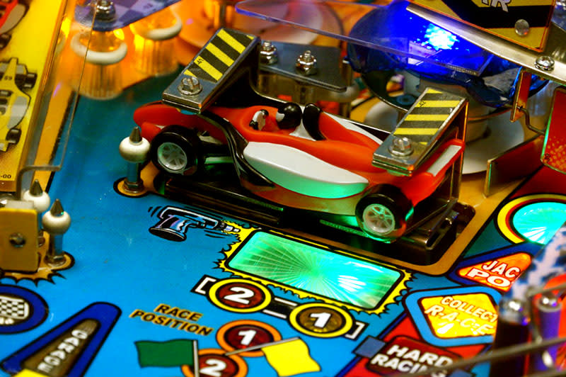 Grand Prix Pinball Machine - Test Car