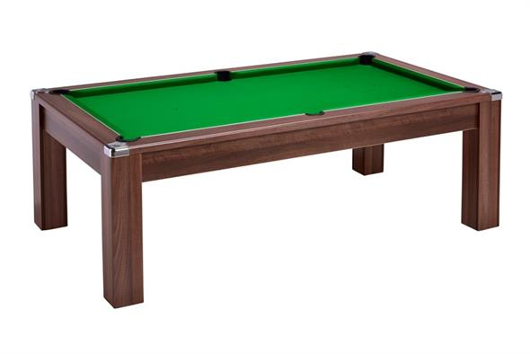 Signature Warwick Pool Dining Table: Dark Walnut - 6ft, 7ft