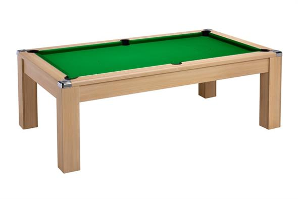 Signature Warwick Pool Dining Table: Oak - 6ft, 7ft