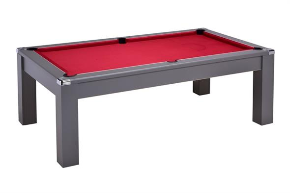 Signature Warwick Pool Dining Table: Onyx Grey - 6ft, 7ft