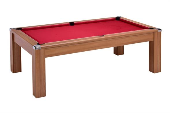 Signature Warwick Pool Dining Table: Walnut - 6ft, 7ft