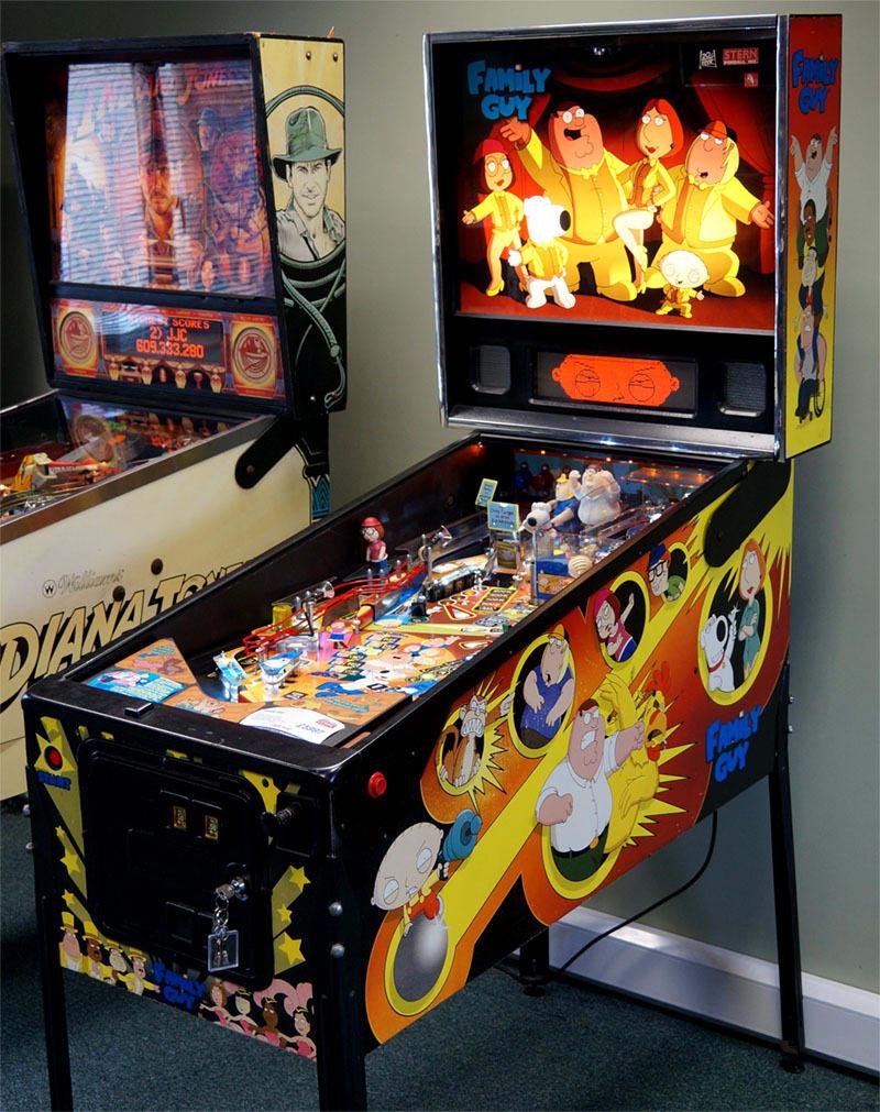 Family Guy Pinball Machine For Sale UK