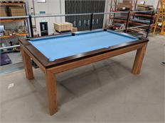 Signature Anderson Pool Dining Table - 7ft: Warehouse Clearance