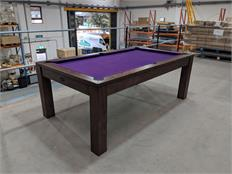 Signature Chester Pool Dining Table 7ft - Solid Walnut: Warehouse Clearance