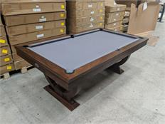 Signature Huntsman Walnut Pool Dining Table: Warehouse Clearance