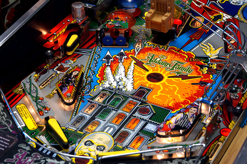 The Addams Family Pinball Machine For Sale UK