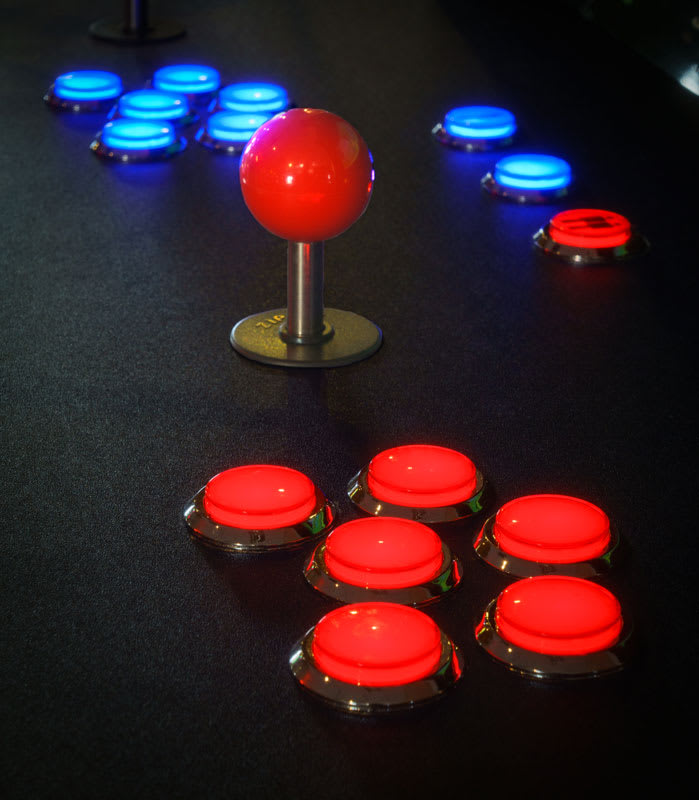 ArcadePro Saturn Arcade Machine - Controls