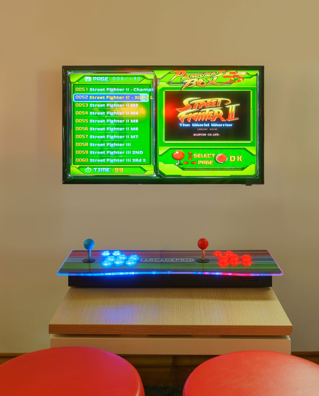 ArcadePro Mercury Arcade Machine - With Screen