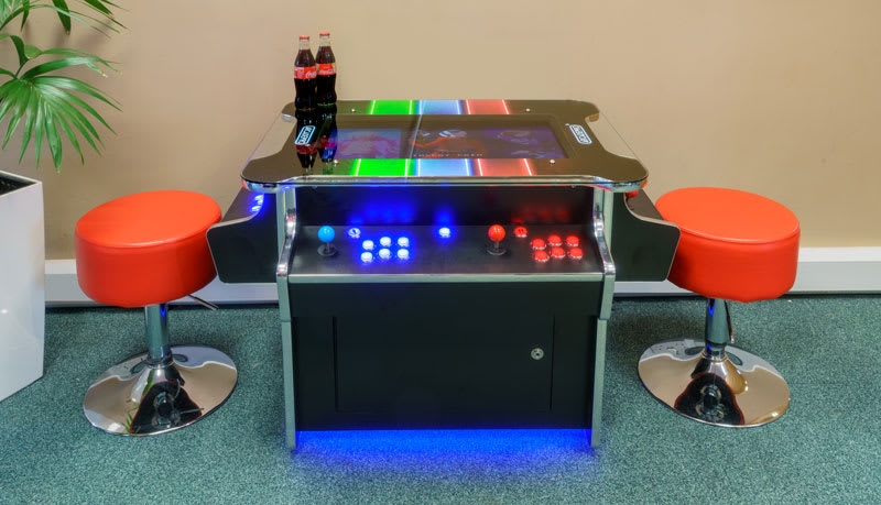 ArcadePro Neptune Arcade Machine - Side