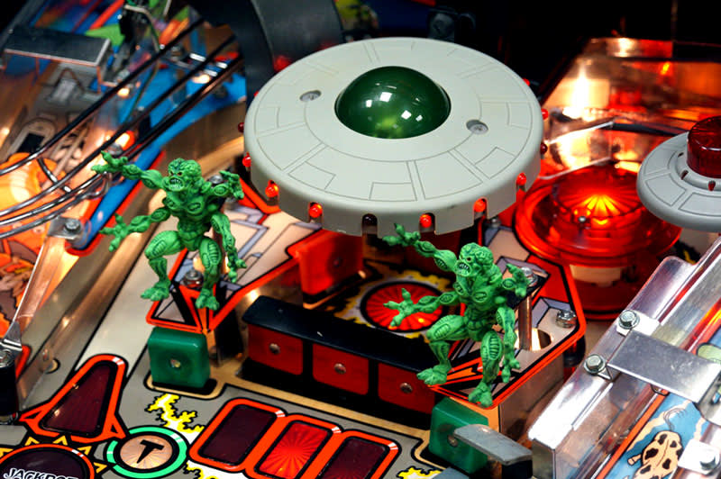 Attack From Mars Pinball Machine - Saucer