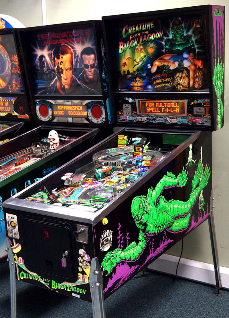 An image of Creature from the Black Lagoon Pinball Machine