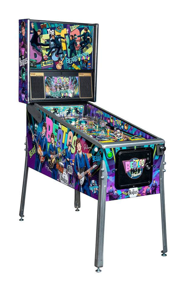 The Beatles Pinball Machine Diamond Edition - Overview Left