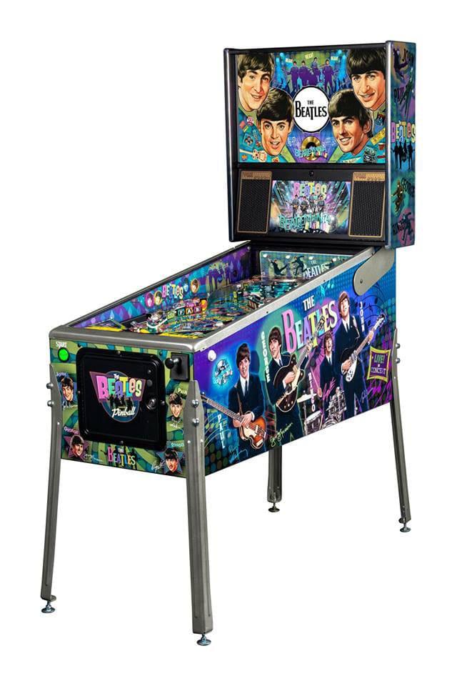 An image of Beatles Diamond Pinball Machine