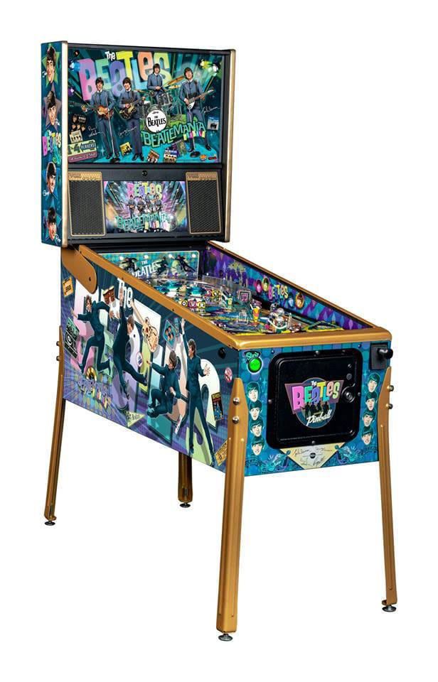 The Beatles Pinball Machine Gold Edition - Overview Left
