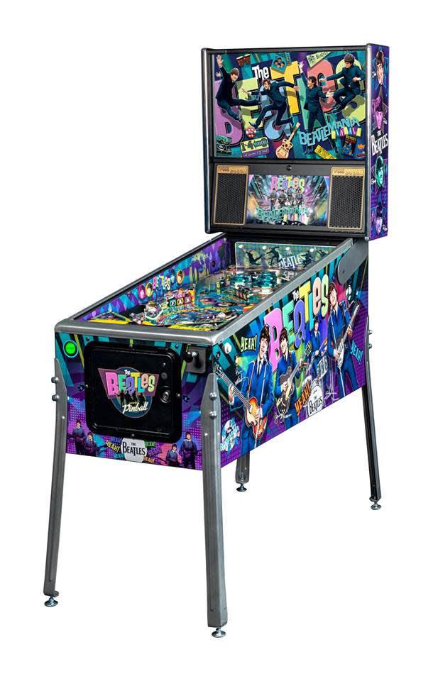 An image of Beatles Platinum Pinball Machine